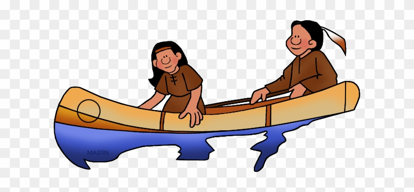 American Indian Png - Eastern Woodlands Native American Canoes #39263