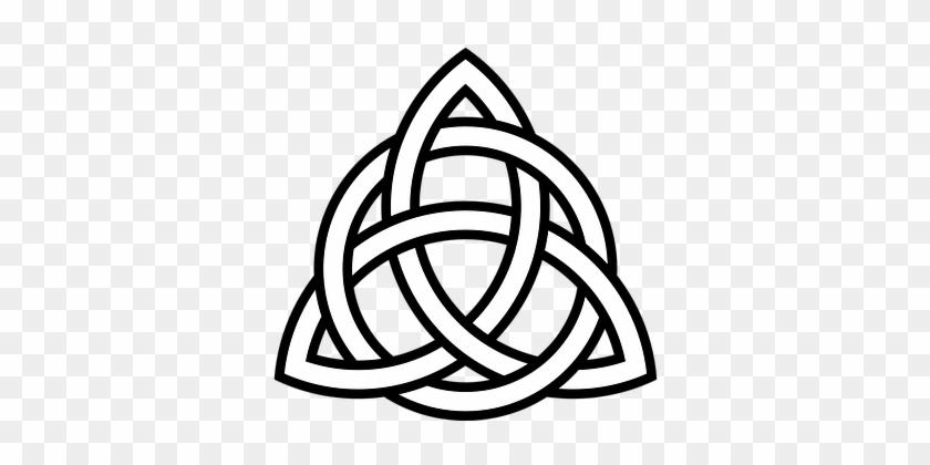 Celtic Tribal Knot Symbol Triangle Ornamen Celtic Symbol Of Hope