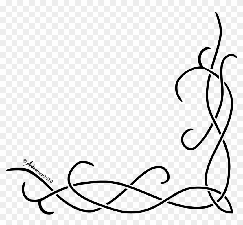 Classical Celtic Pattern Free Vector Art - Simple Corner Borders Png #39359