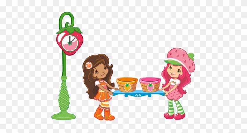Contemporary Strawberry Shortcake Clip Art - Strawberry Shortcakes Clip Arts #39388