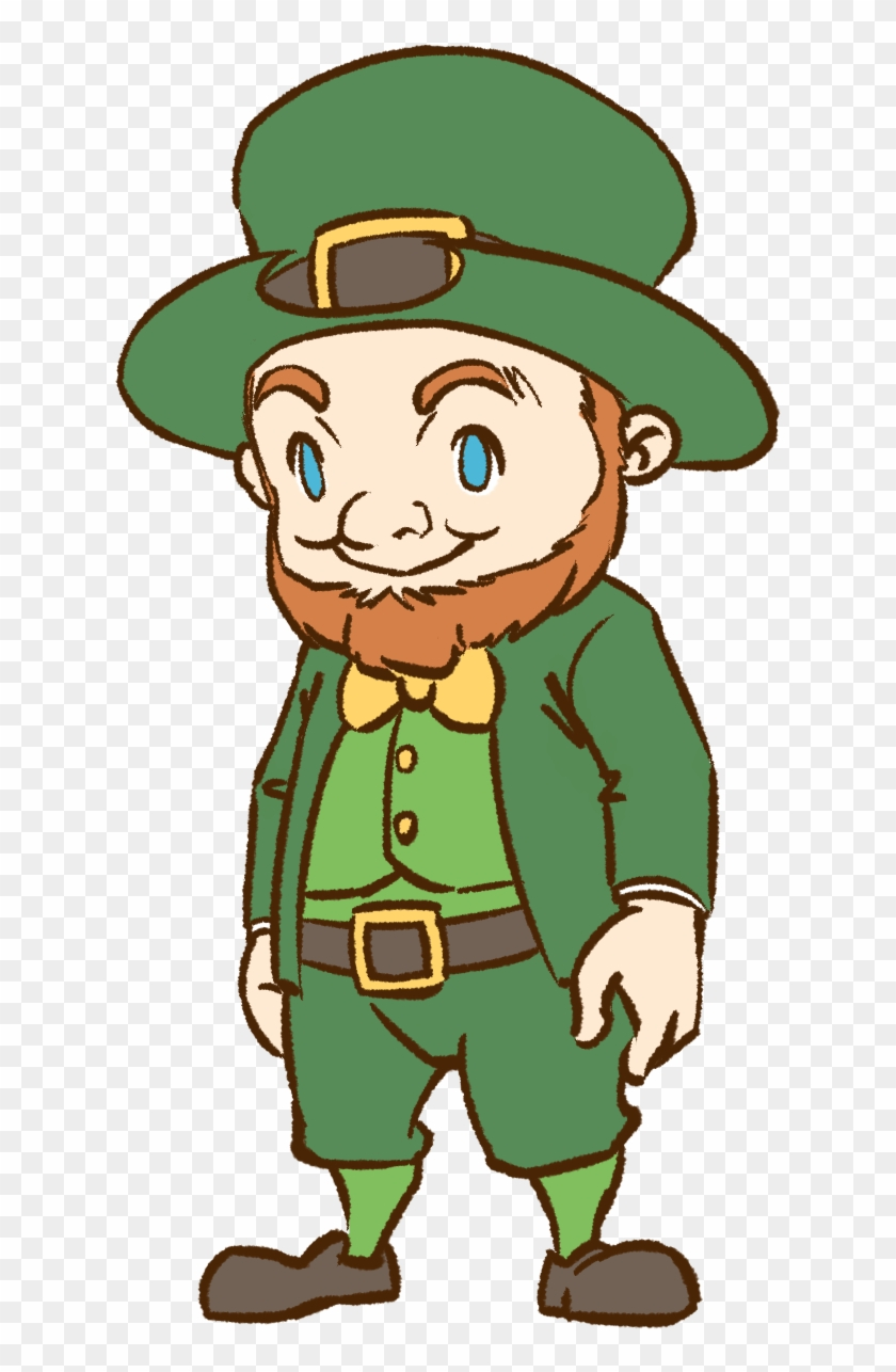 Irish Clipart Leprechaun - Irish Leprechaun Transparent #39401