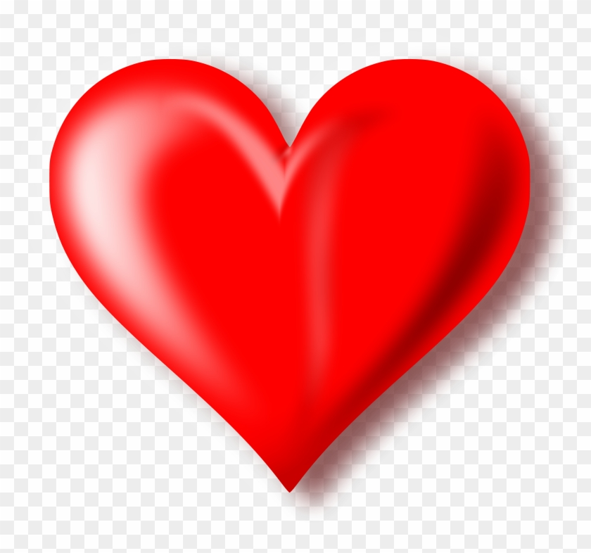 red heart with transparent background free transparent