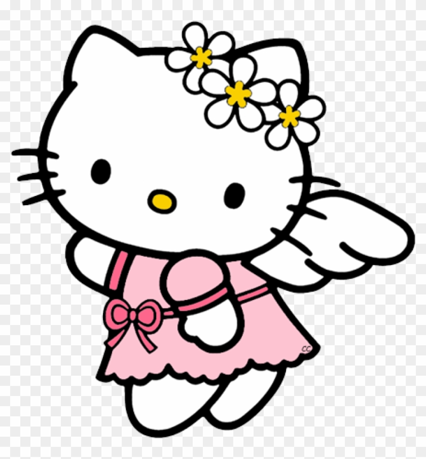 Hello Kitty Clip Art Images Cartoon Clip Art In Hellokitty - Hello Kitty Coloring Pages #39586