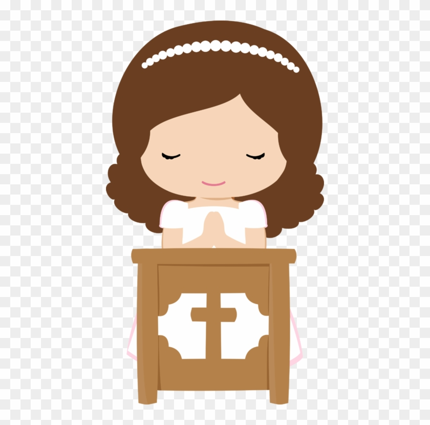 Explore Clipart Images, Png And More - First Communion Girl Clipart #39644