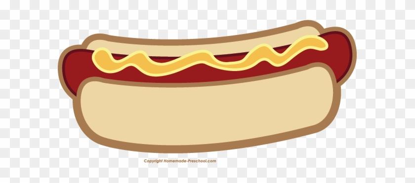 Printable Hot Dog #39683