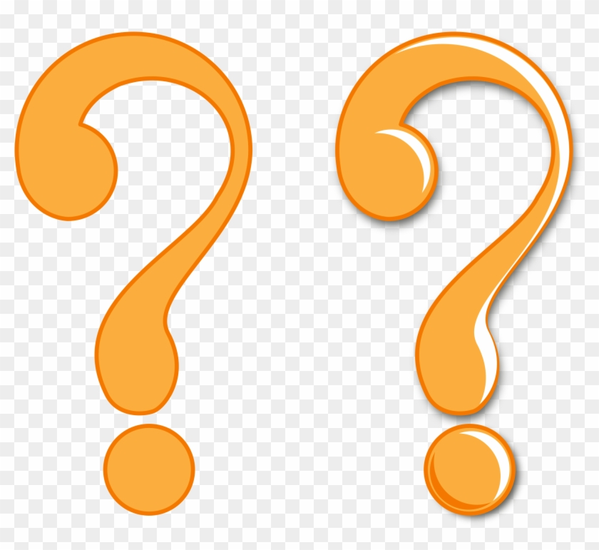Clipart Of Question Mark Symbols Symbol Flat And Glossy - Question Mark Clipart Png #39751