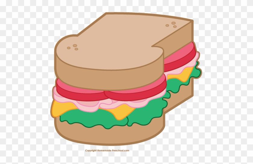 Free Picnic Clipart - Picnic Food Clip Art #39774