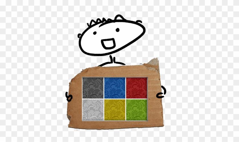 Piece Of Cardboard #39828