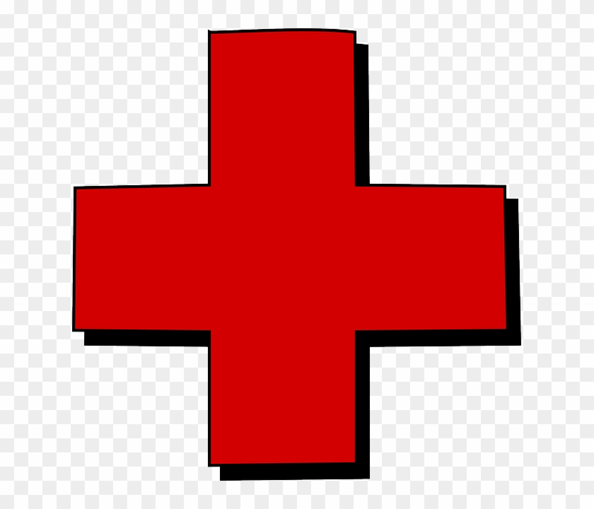 Clinic Near Me Clip Art - Red Cross Clip Art #39835