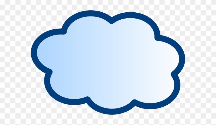 Network Cloud Clip Art At Clker Com Vector Clip Art - Clip Art #39845