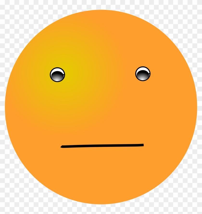 Question Face Puzzled Smiley Face Free Download Clip - Orange Smiley Face #39882