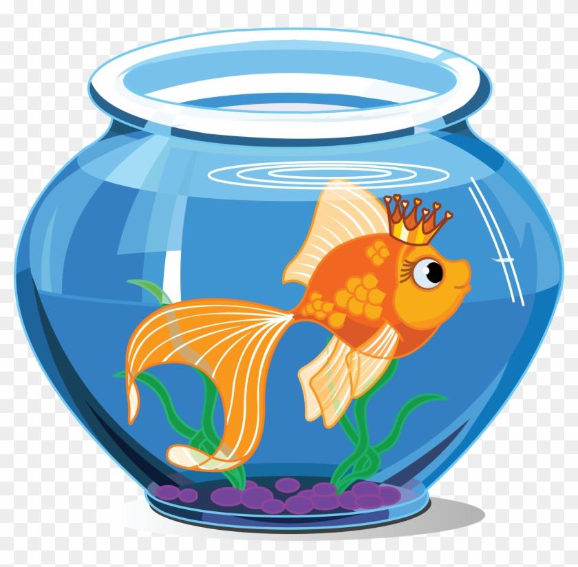 Fish Inside The Aquarium #39925