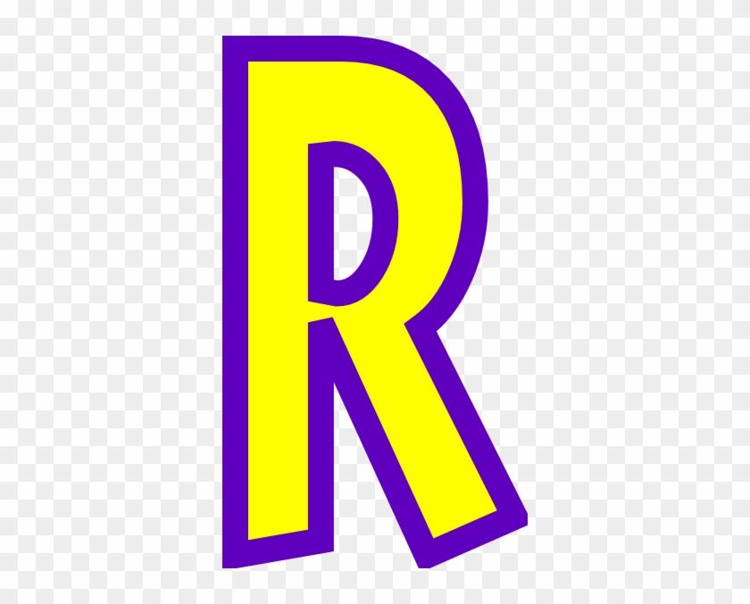 Download - Letter R Clipart #39980