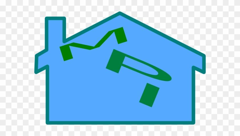 Blue House Svg Clip Arts 600 X 397 Px - Clip Art #40104