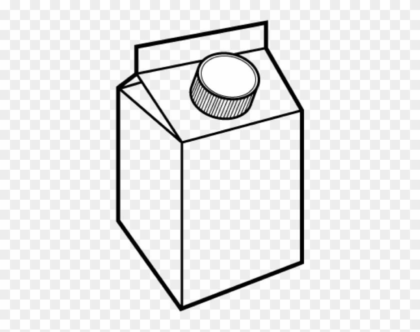Milk Carton Coloring Page - Carton Of Milk Drawing #40167