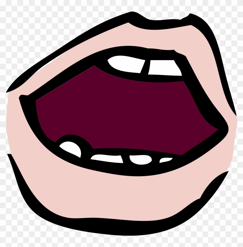 Mouth Clip Art Clipartandscrap - Open Mouth Clipart #40208