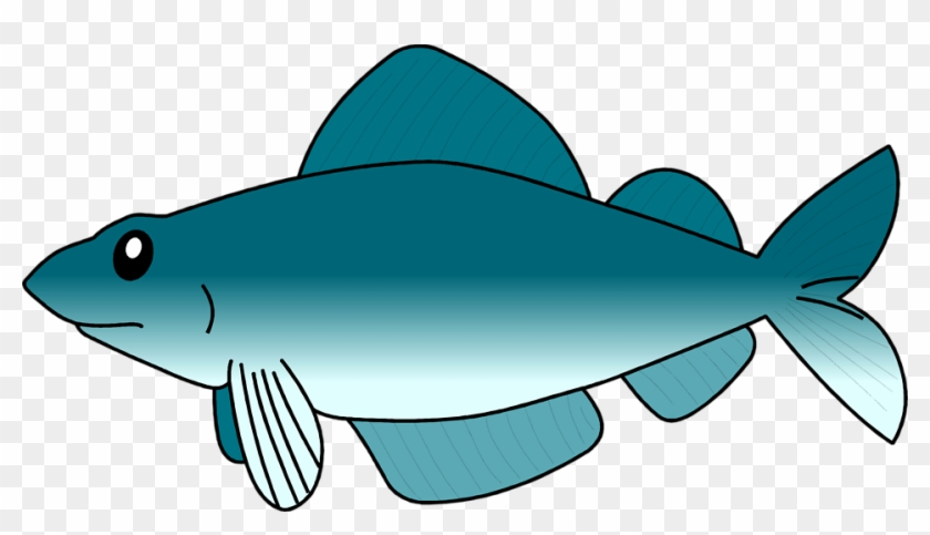 Fish Free Stock Photo Illustration Of A Blue Fish - Fish Clip Art Transparent #40237