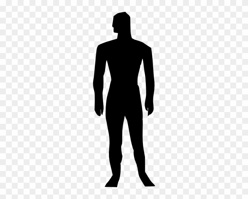 Human Body Silhouette Medical Illustration Clip Art - Human Body Clip Art #40296