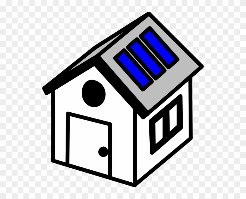 Solar Panel House Clipart Png Free Transparent Png Clipart Images