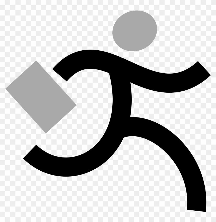 Runner Running Clip Art Animated Free Clipart Images - Running Man Gif Png #40438