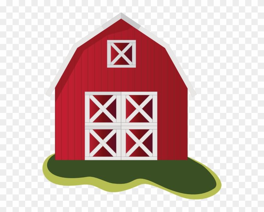 Barn Clip Art - Farm House Clip Art #40508