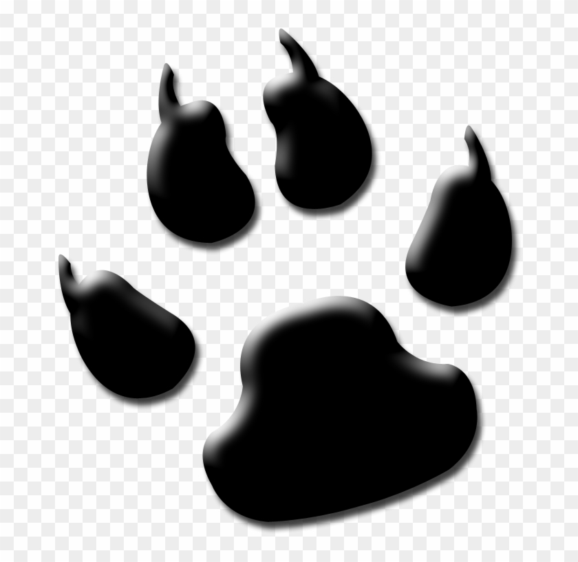 Wolfpaw 3 By Wolfpawplz On Clipart Library - Bulldog Pawprint #40563