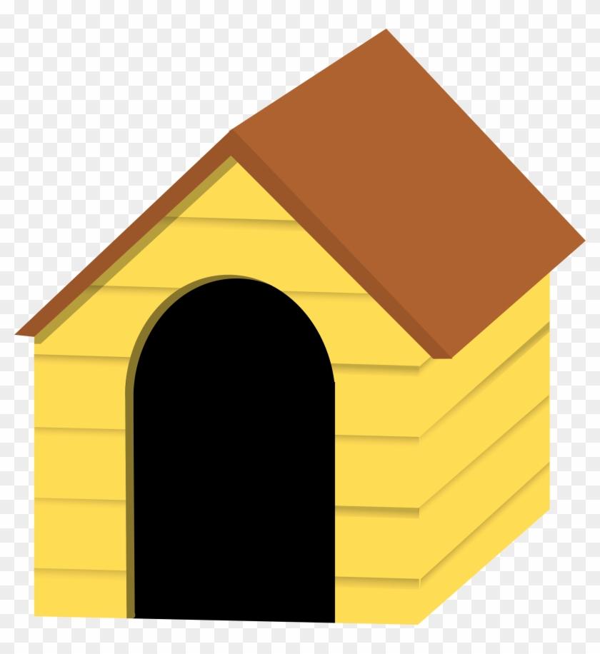 Dog House Kennel Cartoon