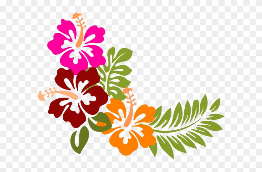 Image Result For Hibiscus Clipart Appliqu Flowers Hawaiian - Hibiscus Clipart #40842