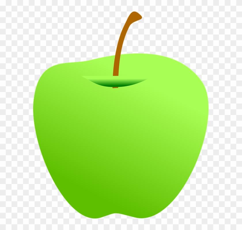 Green Apple Clip Art - Green Apple Clipart Png #41160