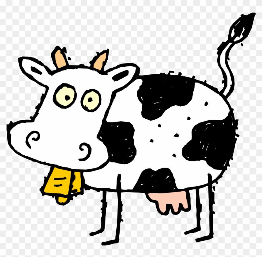 Clipart Cartoon Cow - Free Clip Art Cows #41225