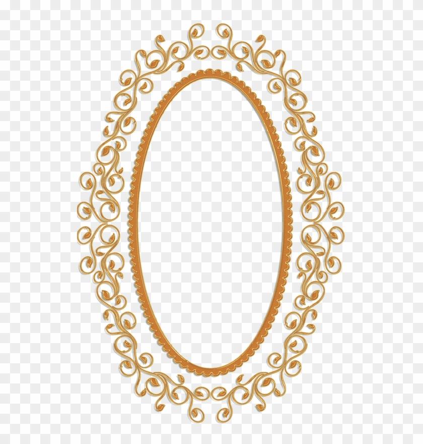 Frame Vintage Gold Ornate - Oval Vintage Gold Frame - Free ...