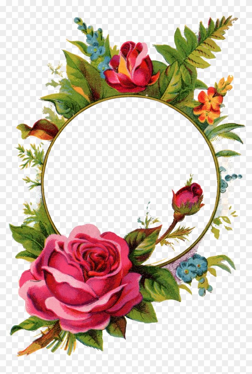 Free Stock Images Rose Frame - Rose Frames - Free Transparent PNG ...