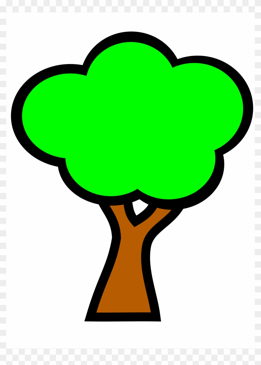 Apple Tree Clipart - Tree With Fruits #41532