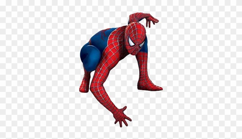 #spiderman #clip #art - Spiderman Png #41632