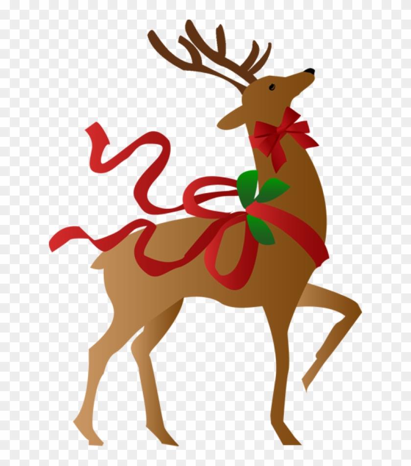 vintage christmas border clip art reindeer christmas free rh clipartmax com clipart reindeer with rudolph clip art reindeer eyes