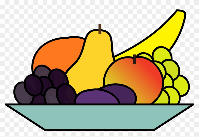 Free Fruits Clipart Images Fruits Clipart Free Images - Bowl Of Fruits Clip Art #41709