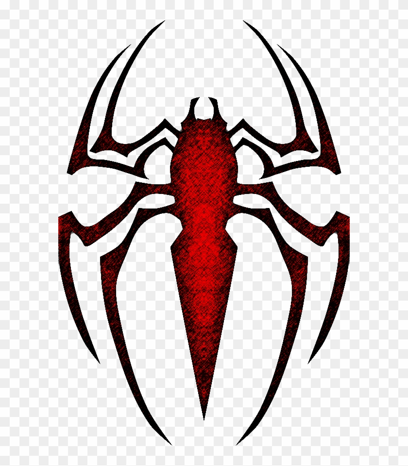 Custom Spiderman Logo [colored] By Blckpantha On Clipart - Logo Spider Man 4 #41776