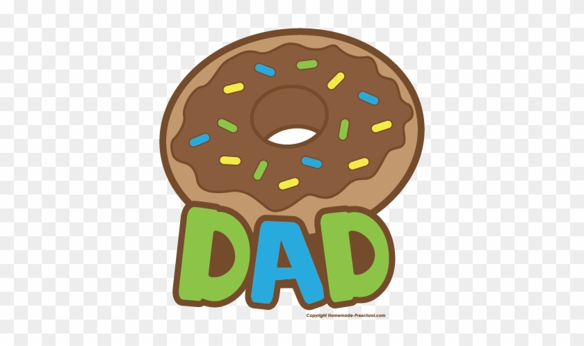 Kind Dad Clipart - Donuts For Dad Clipart #42091