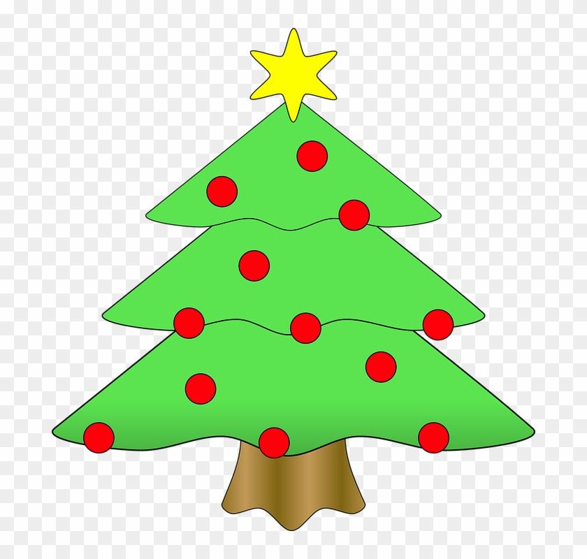 Christmas Tree Xmas Christmas Fir Tree Evergreen - Christmas Tree Clip Art #42281
