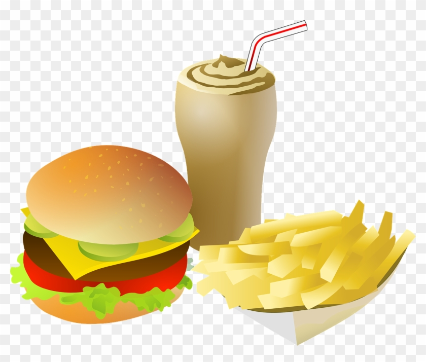 Animated Chips And French Fries Image - Fast Food Clipart Png #42383