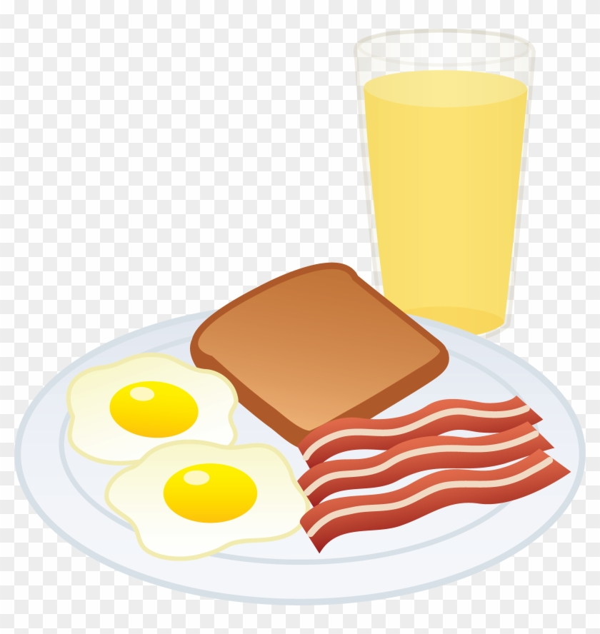 Cartoon Breakfast Food Clipart - Breakfast Free Clip Art #42388