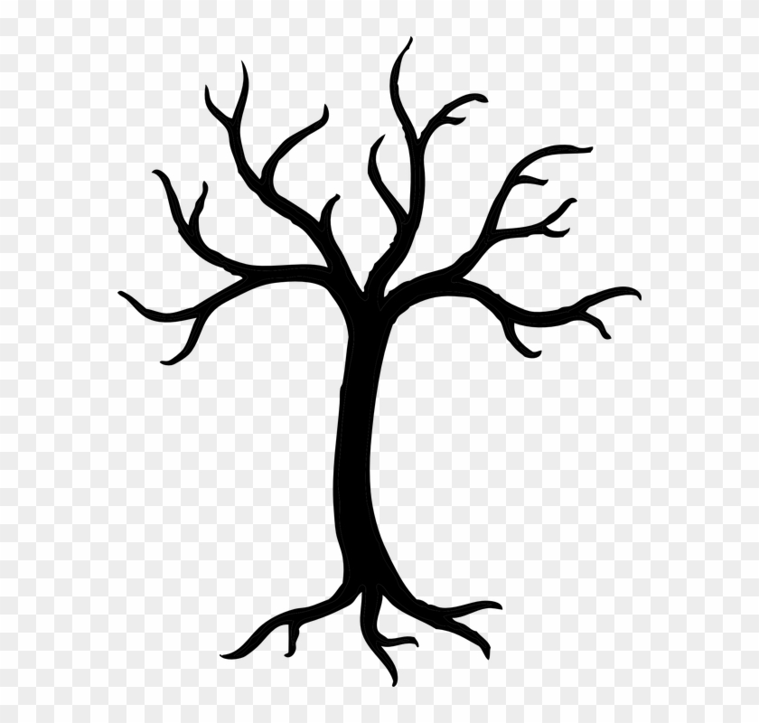Tree, Winter, Dead, Nature, Branches - Bare Tree Branches Clip Art #42568