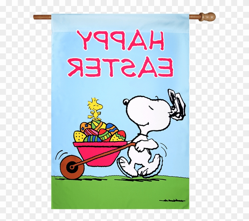 Peanuts Easter Clipart - Happy Easter Images Snoopy #42580