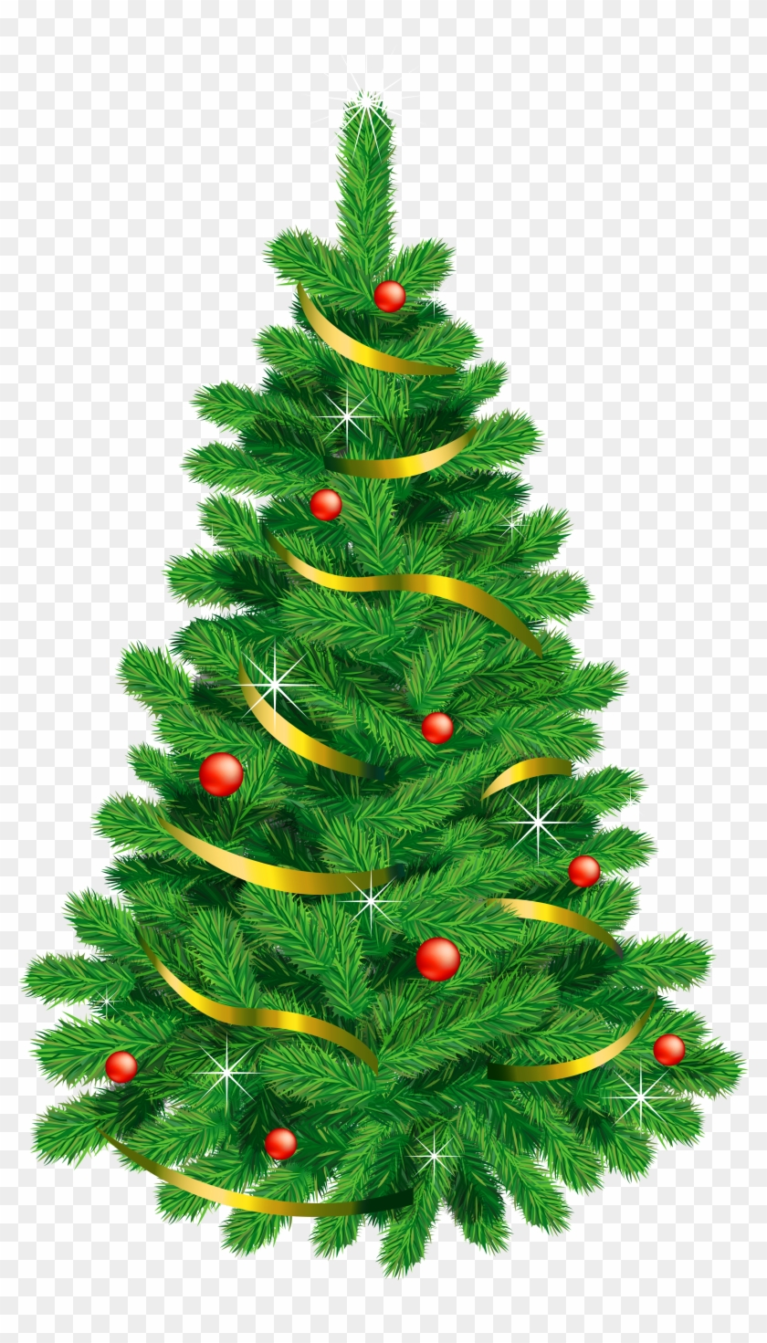 Transparent Green Deco Christmas Tree - Tree Gif Images Free Download #42637