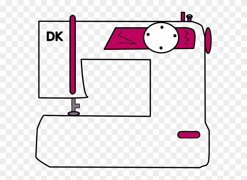Clip Art 1024 X 1044 Jpeg - Cartoon Sewing Machine Transparent #42700
