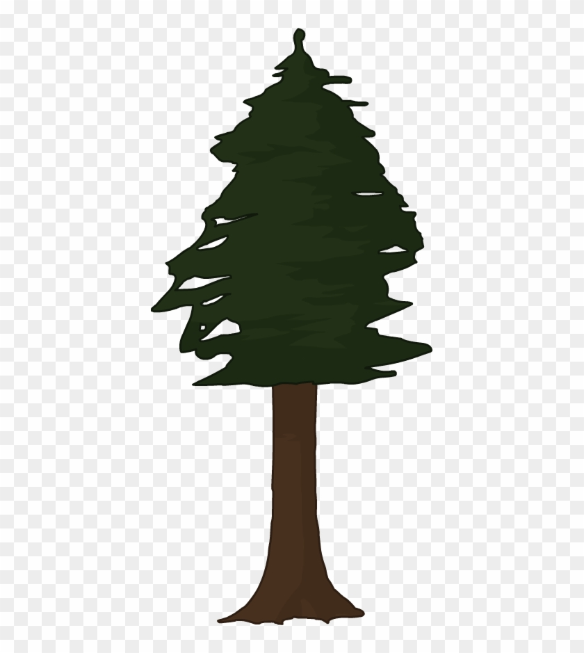 Pin Redwood Tree Clip Art - Redwood Tree Clip Art #42747
