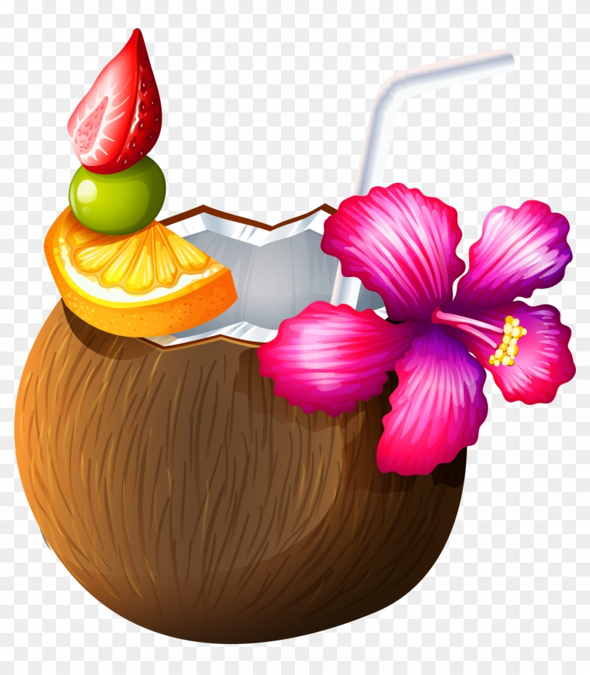 Coconut Drink Clipart 3 By Joshua