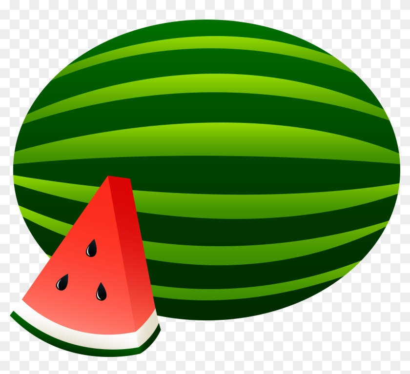 Food Clipart Watermelon - Cartoon Picture Of Watermelon #42922
