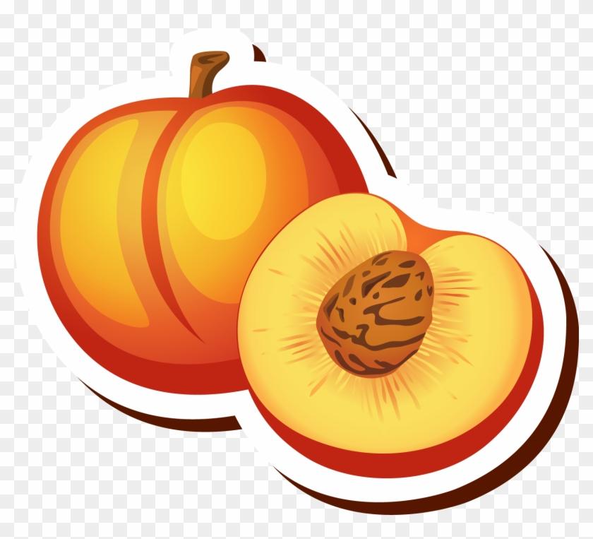 Peach Cartoon Drawing Clip Art - Peach Cartoon #42932