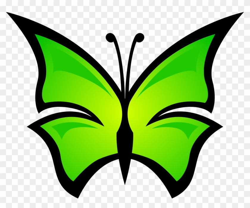 Clip Arts Related To - Butterflies Free Download Svg #42948